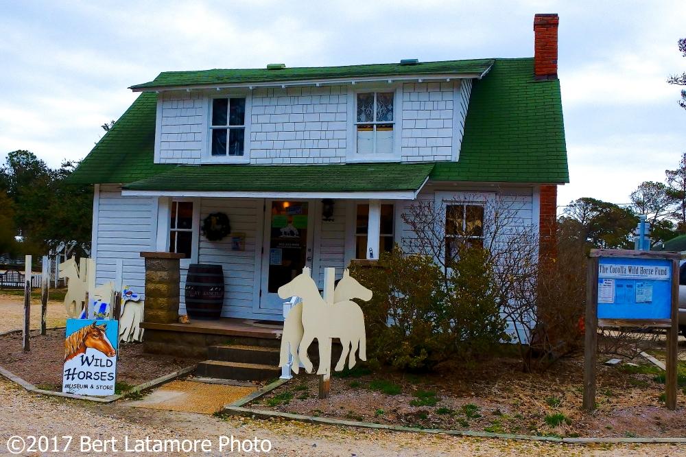 022217 Wild Horse Museum, Corola Historic Village, OBX