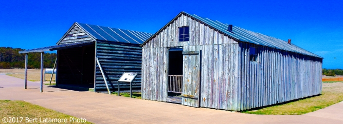 022517 Replica barn & office, Wright Bros Memorial