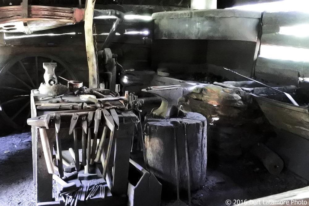 071416 14 Mabry Mill blacksmith shop